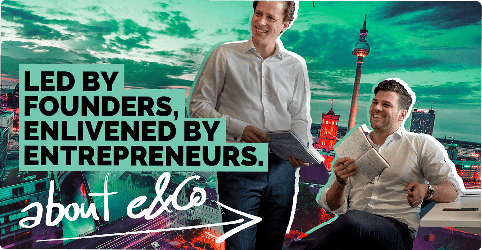 Led by founders, enlivened by entrepreneurs | About e&Co. AG