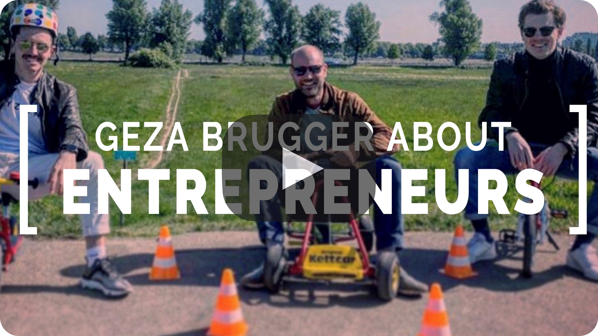 Geza Brugger talks about Entrepreneurs | e&Co. AG