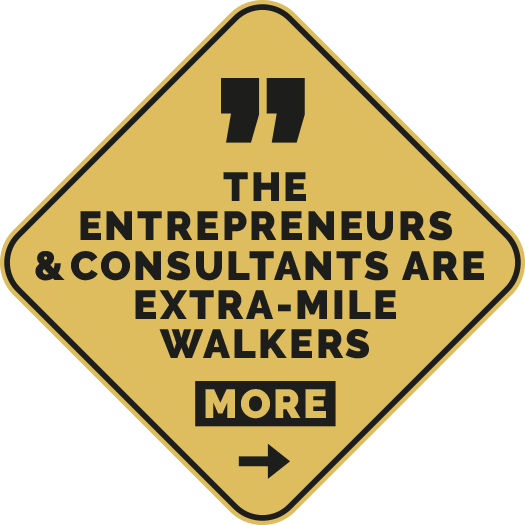 The Entrepreneurs & Consultants are extra-mile walkers | e&Co. AG